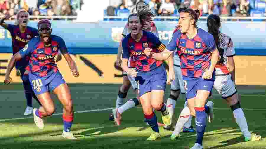 A liga feminina espanhola teve sua temporada encerrada este ano, com o Barcelona sagrando-se campeão - Javier B. / AFP7 / Europa Press Sports via Getty Images