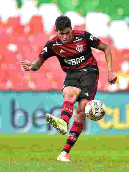 Pedro, atacante do Flamengo - Thiago Ribeiro/AGIF