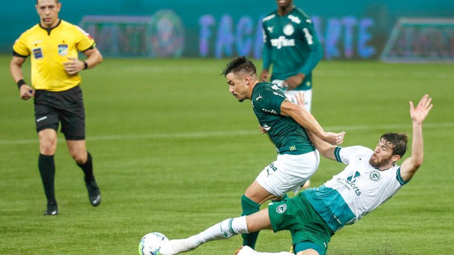Goiás de Ney Franco vem de empate com o Palmeiras no Allianz Parque - Marcello Zambrana/AGIF