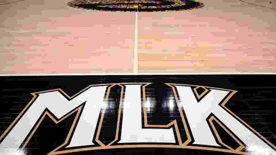 Atlanta Hawks homenageia Martin Luther King em novo design de quadra - Divulgação