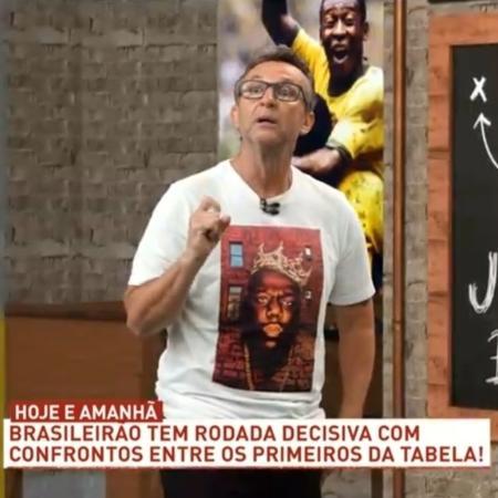 Neto, apresentador do Donos da Bola - Reprodução/Band