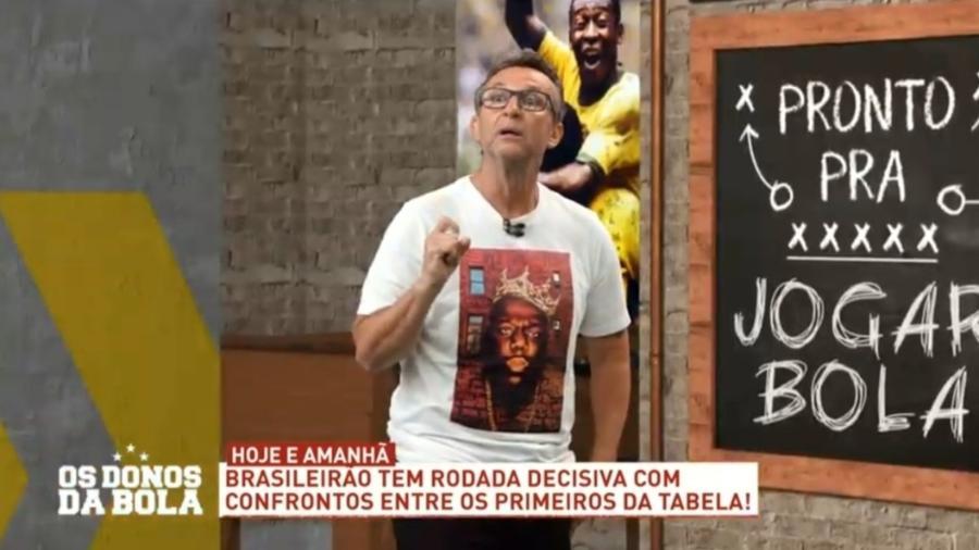 Neto diz que Daniel Alves manda no São Paulo e o coloca entre piores camisas 10 do clube - Reprodução/Band
