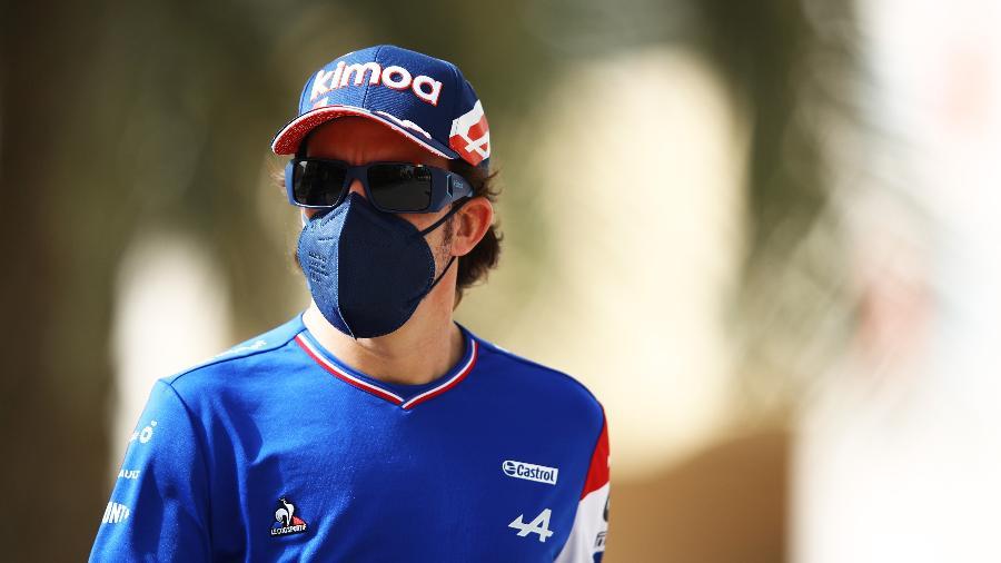 Fernando Alonso volta à Formula 1 nos treinos livres da temporada no Bahrein - Mark Thompson/Getty Images