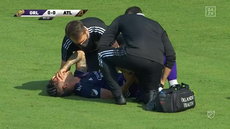 Alexandre Pato sofreu lesão na coxa direita em estreia pelo Orlando City - Divulgação/Orlando City