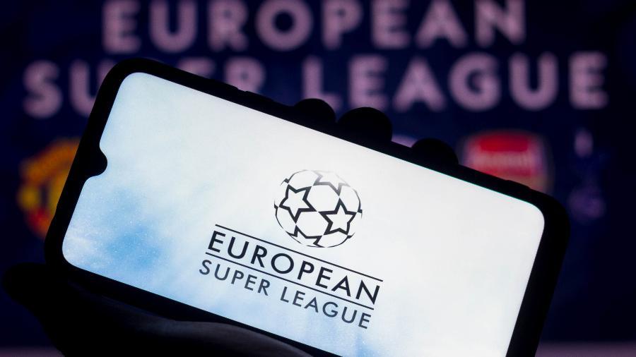 A iniciativa da Superliga gerou protestos e fracassou em pouco tempo - SOPA Images/SOPA Images/LightRocket via Gett
