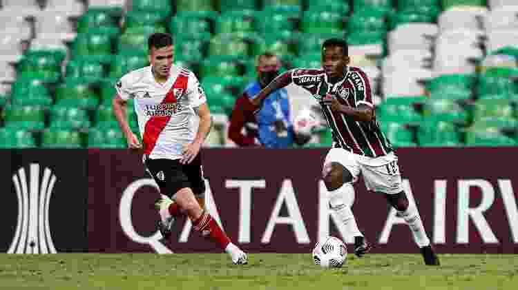 Cazares pelo Fluminense - Lucas Mercon/Fluminense - Lucas Mercon/Fluminense