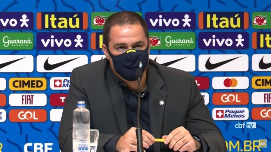 André Jardine, técnico da Seleção Olímpica - Reprodução/Youtube