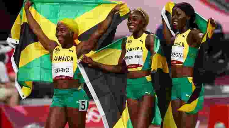 top 10 momentos marcantes jamaica 100m - Reuters - Reuters
