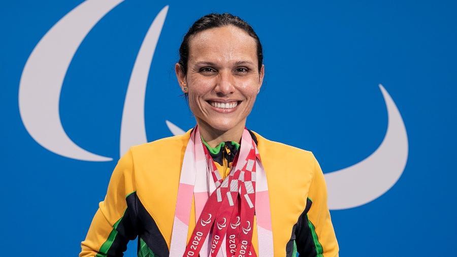 Carol Santiago conquistou três medalhas de ouro nas Paralimpíadas 2020 - ALE CABRAL/CPB