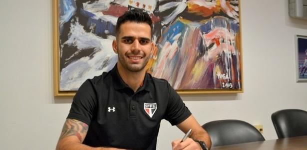 Luiz Eduardo foi contratado pelo São Paulo em julho de 2015