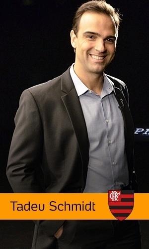 Tadeu Schmidt (Rede Globo): Flamengo