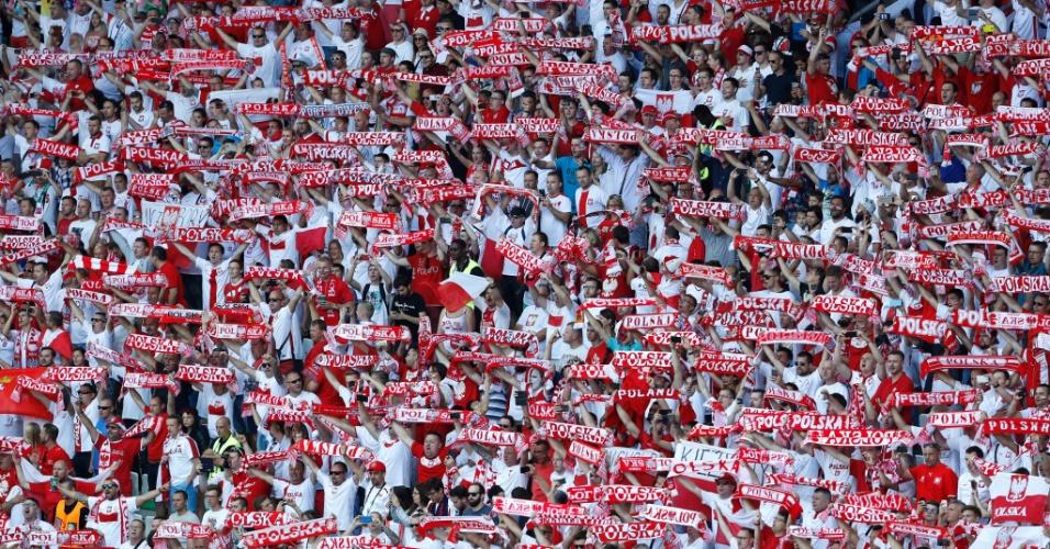Torcida polonesa na Euro 2016