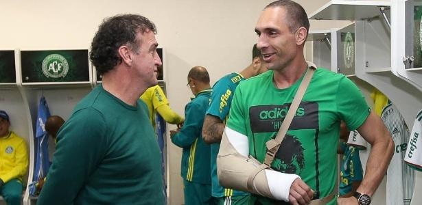 Fernando Prass virou presença constante nos jogos e treinos do Palmeiras - Cesar Greco/Ag. Palmeiras