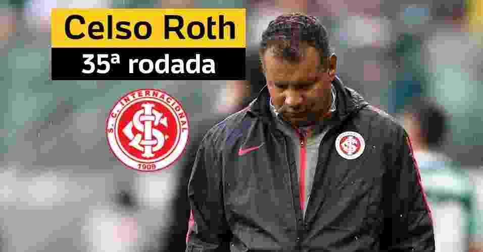 Celso Roth, mais um técnico que caiu no Brasileiro - Getty Images