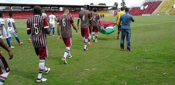 Em Osasco, Fluminense foi derrotado pelo Interporto: 2 a 1