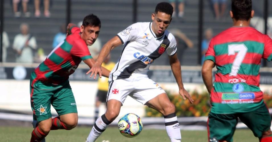 Vasco e Portuguesa se enfrentam em São Januário pelo Campeonato Carioca 2017