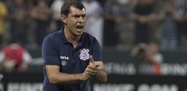 Carille comandou o Corinthians em 13 jogos oficiais de 2017