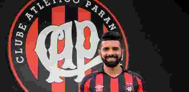 Guilherme chega ao Furacão por empréstimo por dois anos - Fábio Wosniak/Site oficial Atlético-PR