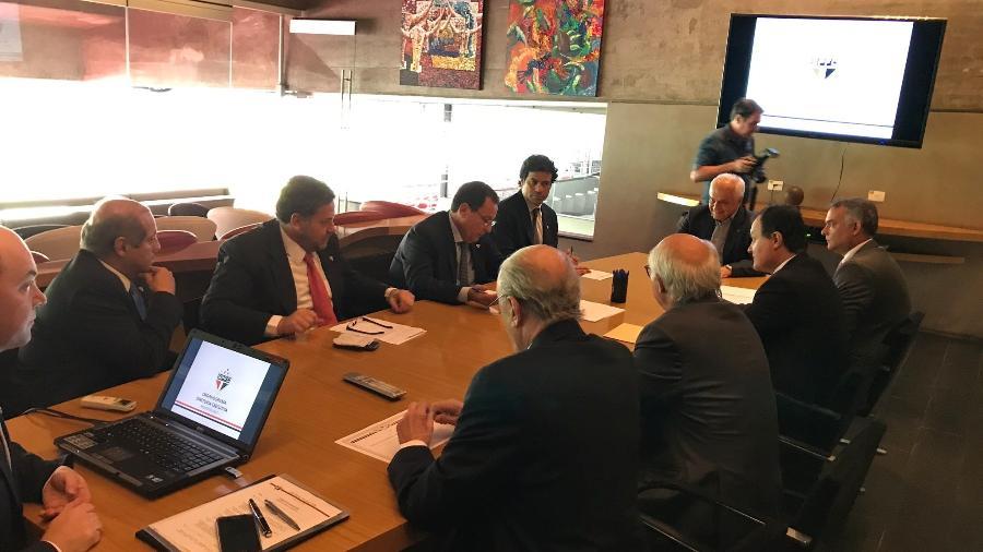 Reunião do Conselho de Administração do São Paulo - Divulgação/São Paulo