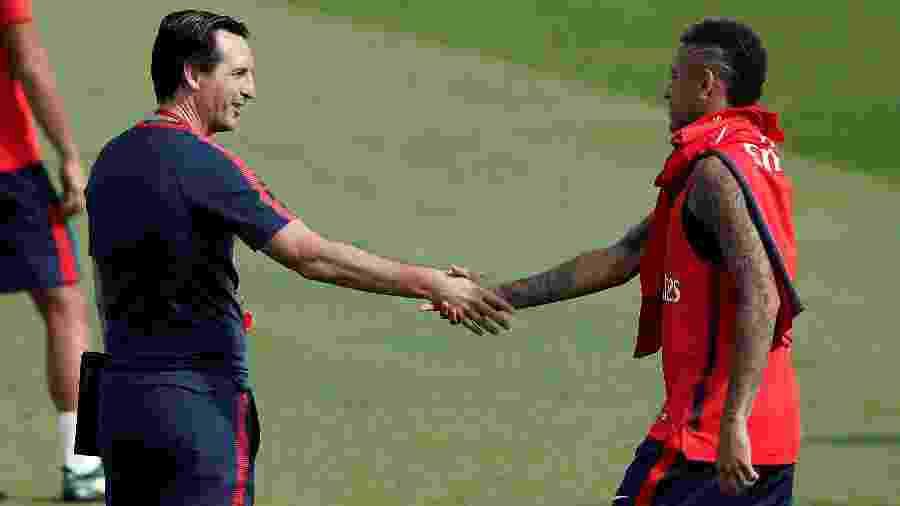 Unai Emery comandou Neymar no PSG - Benoit Tessier/Reuters
