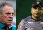 Após definir acesso, Inter quer definir técnico e mira Abel e Roger - Thiago Ribeiro/AGIF e Bruno Cantini/Clube Atlético Mineiro