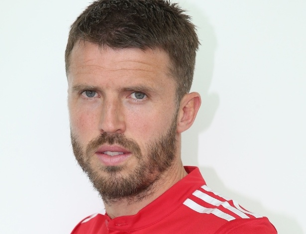 Michael Carrick, volante do Manchester United