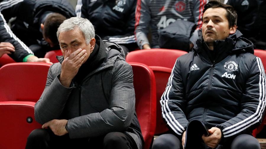 José Mourinho, técnico do Manchester United - Reuters