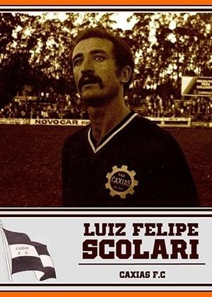FELIPÃO, sem clube após deixar o Guangzhou Evergrande-CHN, começou como zagueiro do Caxias em 1973
