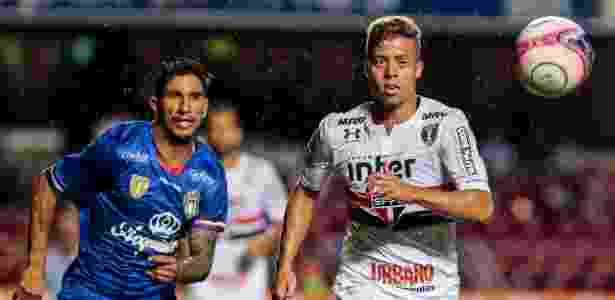 Lucas Fernandes no São Paulo - Ale Cabral/AGIF - Ale Cabral/AGIF