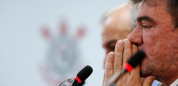 Andrés, que voltou à presidência do Corinthians em fevereiro, é acusado de crime tributário - Daniel Vorley/AGIF