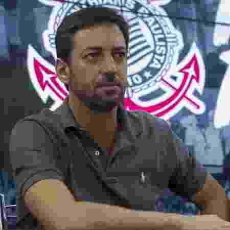 Duilio Monteiro Alves concede entrevista coletiva no CT do Corinthians - Daniel Augusto Jr. / Ag. Corinthians