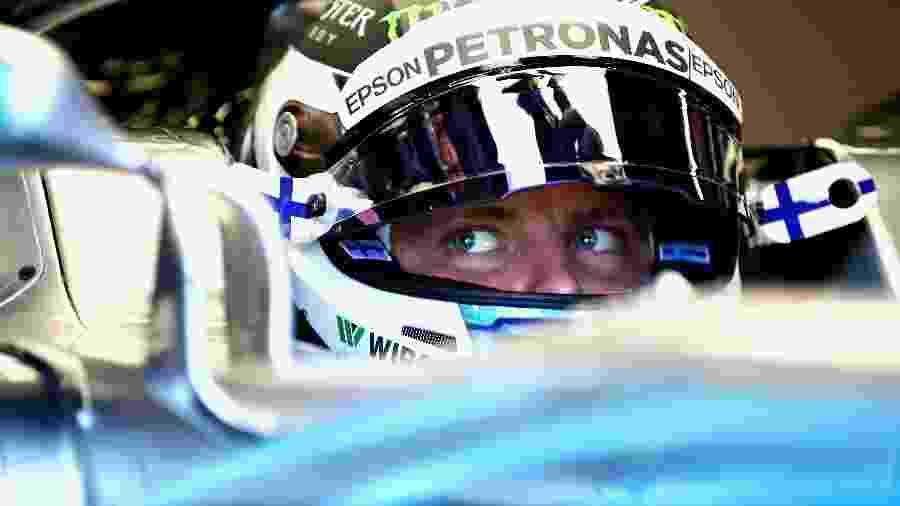 O piloto finlandês Valtteri Bottas, da Mercedes - Mark Thompson/Getty Images