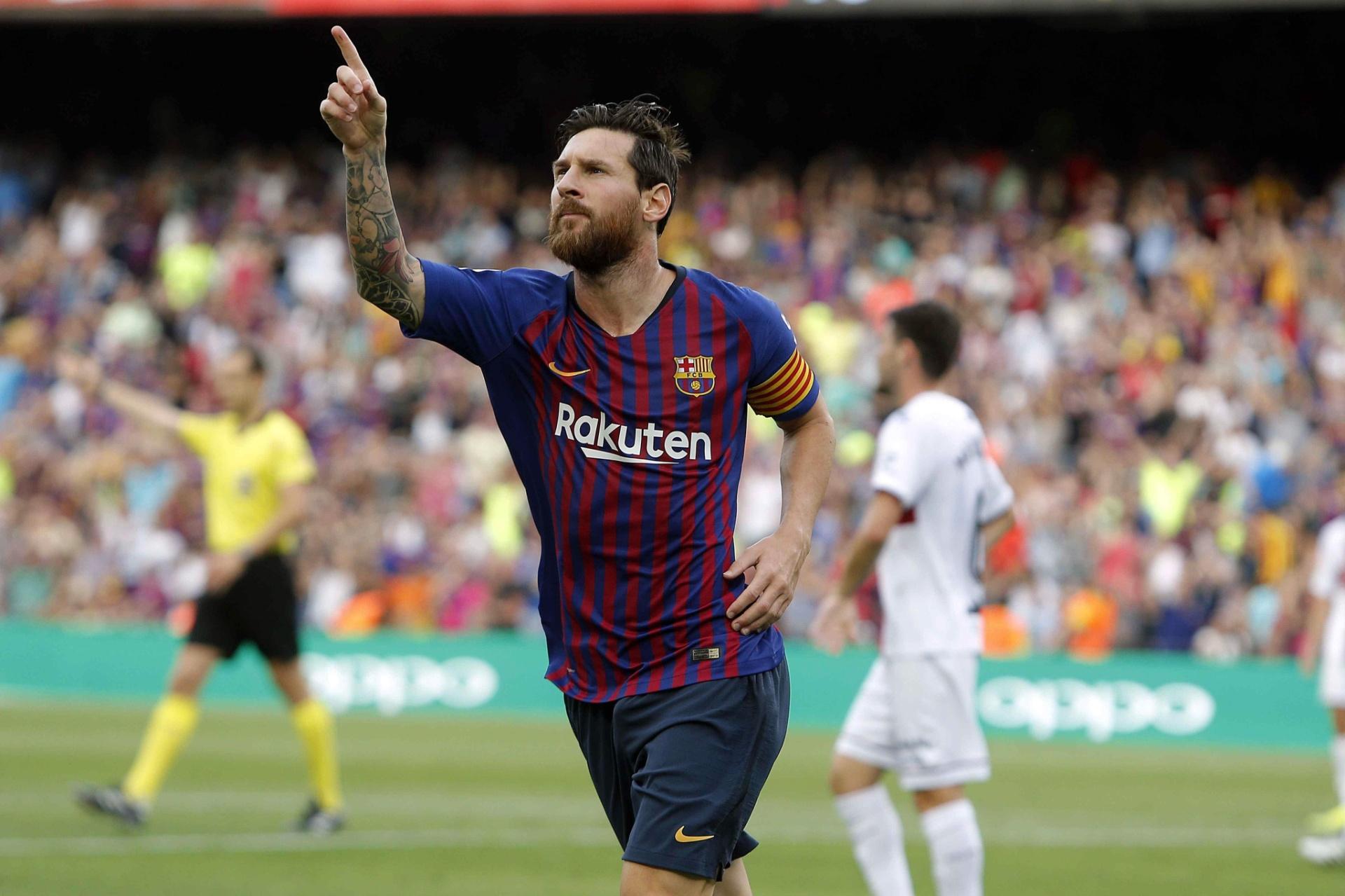 171adf379e Messi brilha em jogo de dez gols