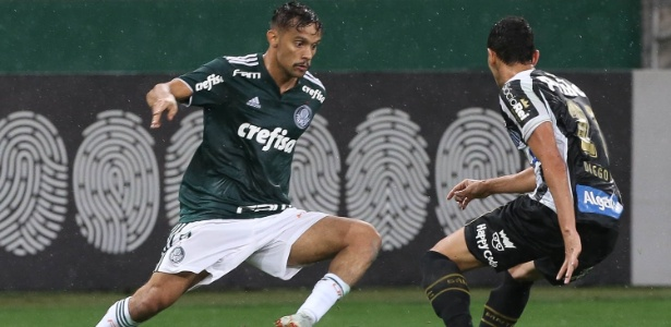 Gustavo Scarpa foi o escolhido para começar o jogo na vaga do lesionado Willian