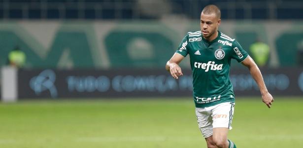 Mayke assinou contrato de cinco temporadas com o Palmeiras - Marcello Zambrana/AGIF