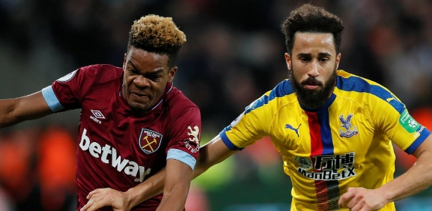 West Ham e Crystal Palace são alguns dos clubes patrocinados por sites de apostas