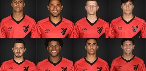 Athletico repete a fórmula campeã em 2019: jovens mesclados à experientes sem aproveitamento no elenco principal - Reprodução