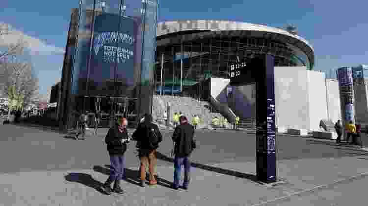 Estádio do Tottenham 2 - Paul Childs/Reuters - Paul Childs/Reuters