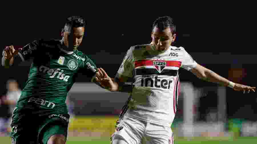 Palmeiras e São Paulo se enfrentam pelo Campeonato Brasileiro 2019 - Marcello Zambrana/AGIF