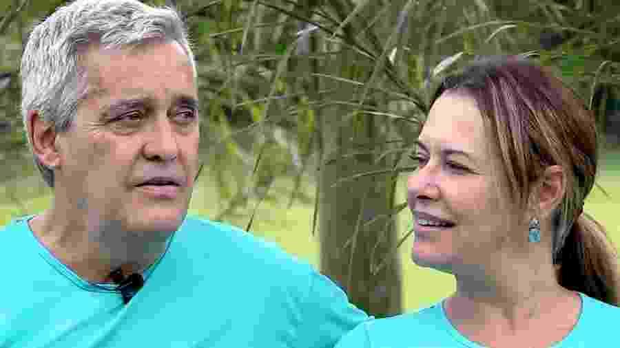 Mauro Naves e a mulher, Patrícia Naves - Reprodução/YouTube
