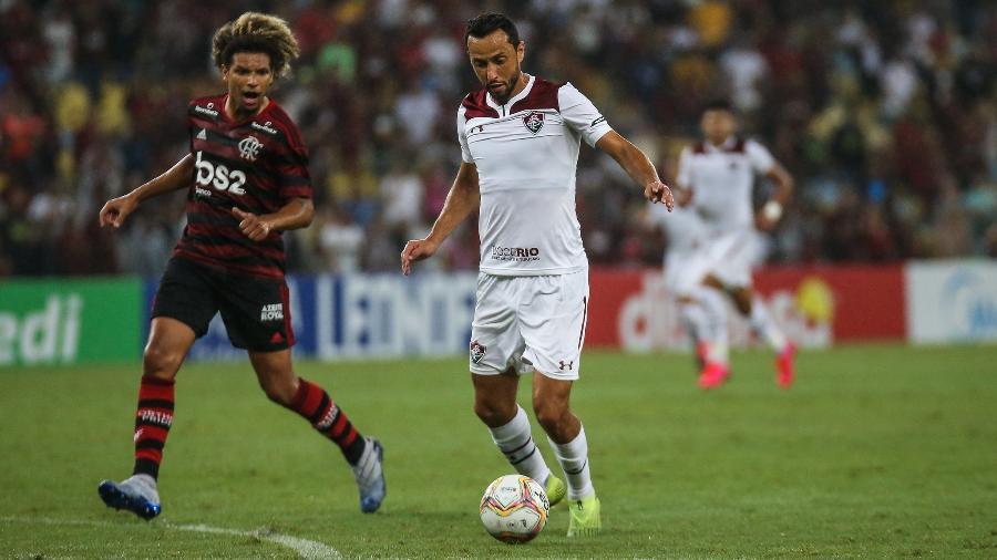 Nenê não repetiu boas atuações no Fla-Flu da semi da Taça Guanabara - Lucas Merçon/Fluminense FC