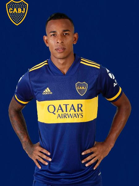 Sebastián Villa, atacante do Boca Juniors - Divulgação/Site oficial do Boca Juniors