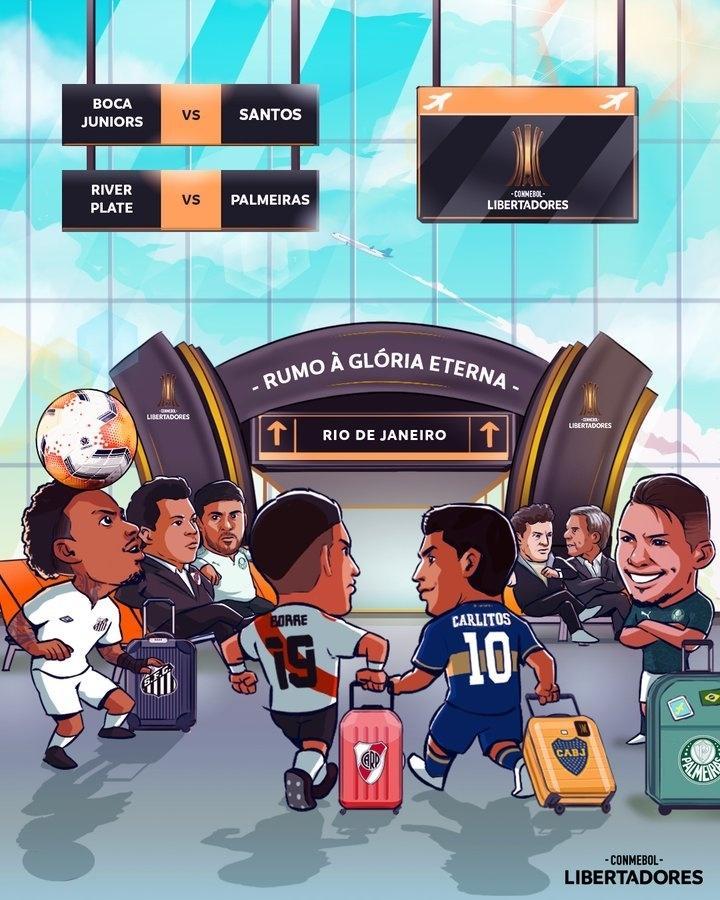Como surgiu a charge da Conmebol que virou meme entre os palmeirenses -  06/01/2021 - UOL Esporte