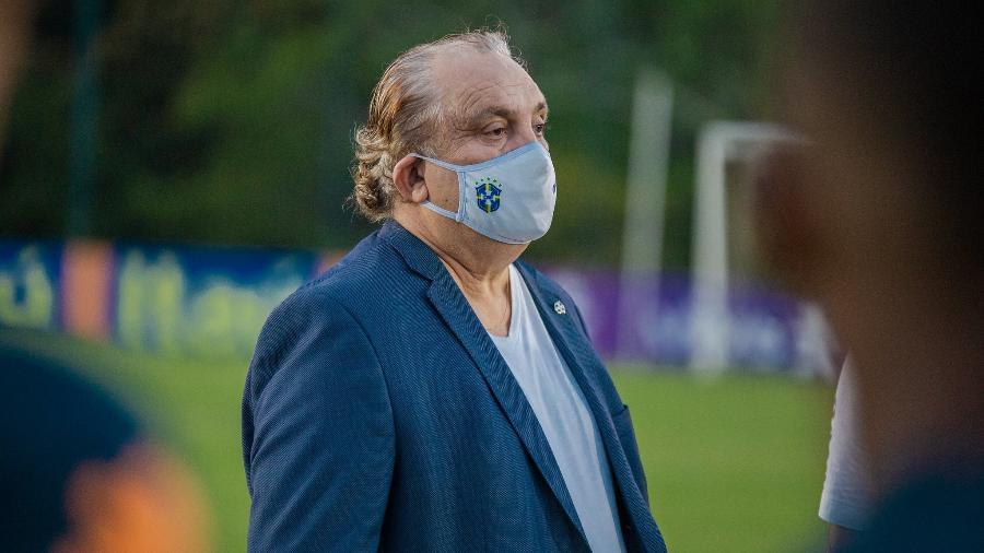 Ex-jogador não abordou um impasse envolvendo a liberação de Pedro pelo Flamengo - Divulgação/CBF