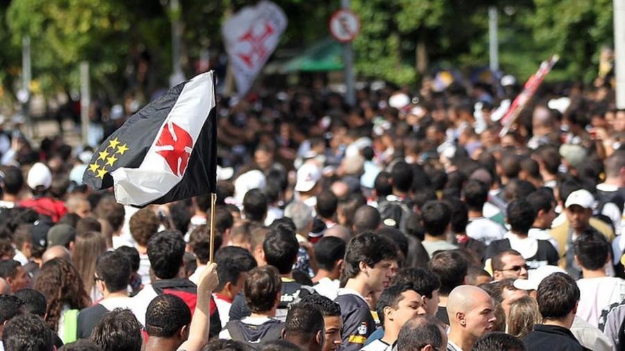 Mar de gente toma conta das ruas do Rio de Janeiro para comemorar título do Vasco da Copa do Brasil, em 2011 - Marcelo Sadio / Vasco