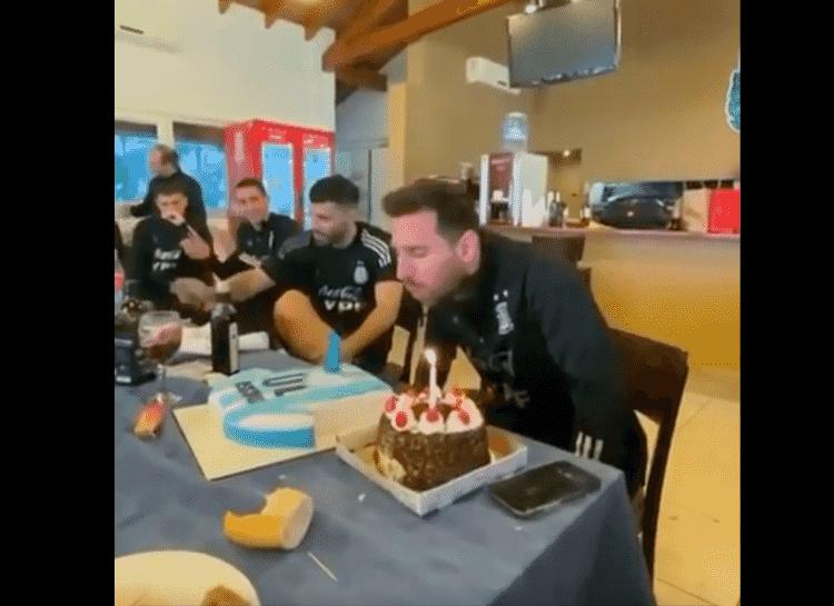 Lionel Messi comemora aniversário  - Instagram - Instagram