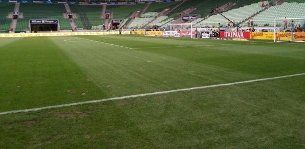 Gramado do Allianz Parque fará o Palmeiras atuar no Pacaembu