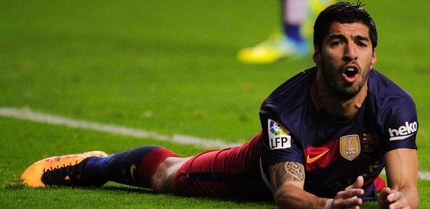 Suárez é o artilheiro do Barcelona