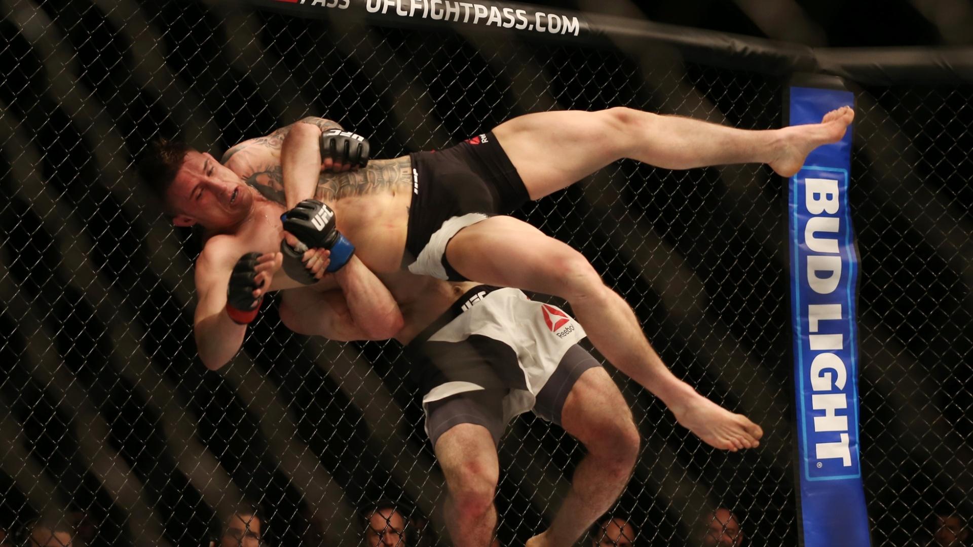 norte-irlandês Norman Parke leva slam do russo Rustam Khabilov, em duelo do card preliminar