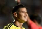 """Ano perdido"" faz James Rodríguez ter titularidade questionada na Colômbia - Juan Mabromata/AFP"